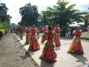 Culture Parade in Philippines